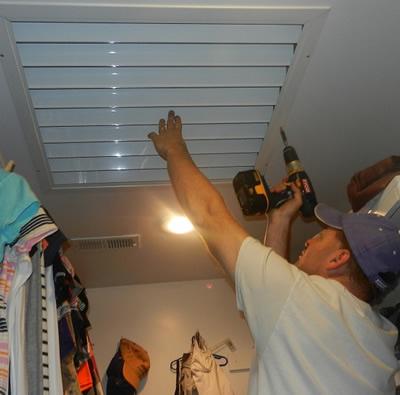 Kansas City Attic Fans Whole House Attic Fan Installation